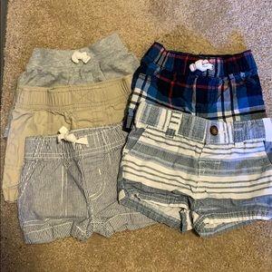 Carter's  Boy Shorts 3 months (set of 5)